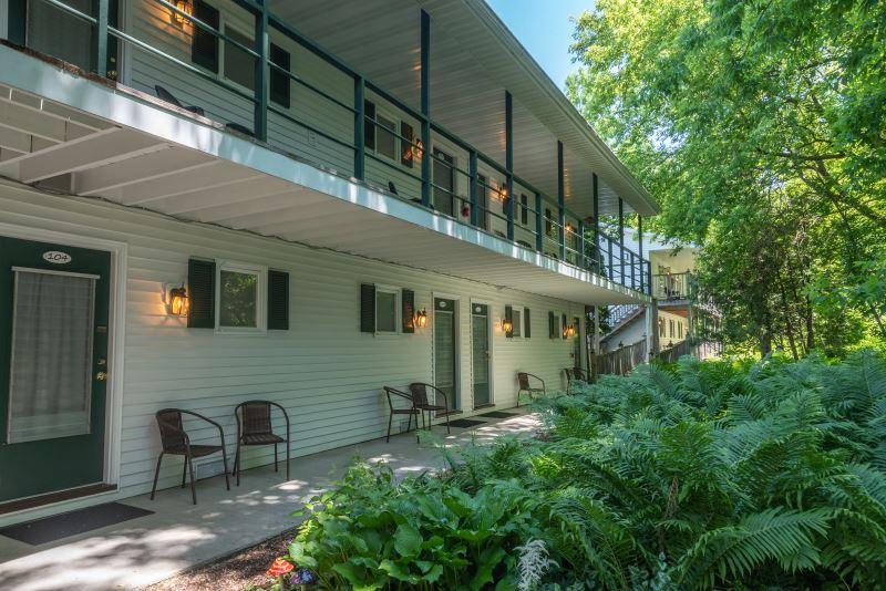 Village Green Lodge Balcony and Walkway