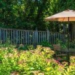 Village Green Lodge patio
